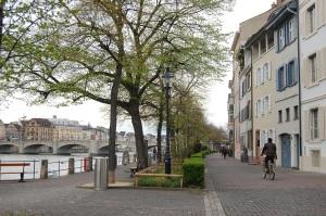 Rheinufer auf Kleinbasler Seite